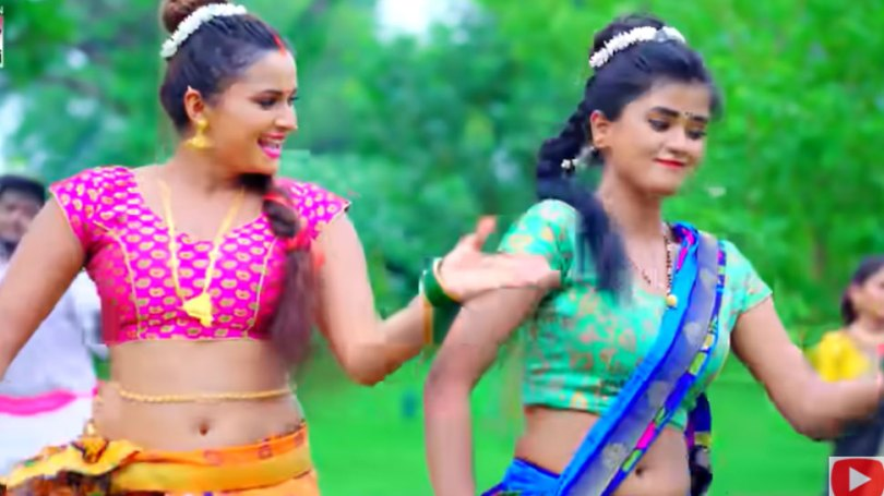 Shilpi Raj, Neelam Giri's 'Garaiya Machhari' rocked YouTube |  Shilpi Raj and Neelam Giri become 'fish'