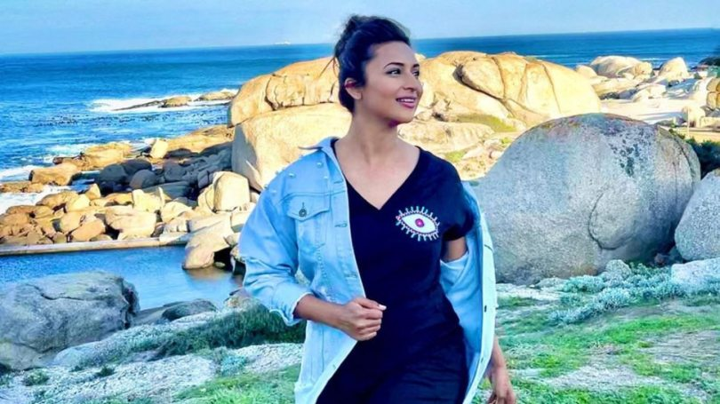 Divyanka Tripathi Dahiya got scars from the face given by Crocodile in Khatron Ke Khiladi 11    KKK11: Divyanka Tripathi became a victim of crocodile, shared the picture of the wound with the fans