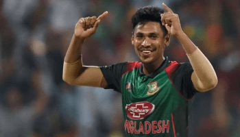 Mustafizur Rahman shares a message in Bengali