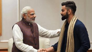 Narendra Modi - Virat Kohli