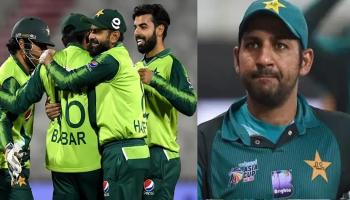 Pakistan team - Sarfaraz Ahmed