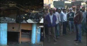 बेंगलुरु: कैलाश बार रेस्तरां में आग लगने से अंदर सो रहे 5 लोगो की मौत