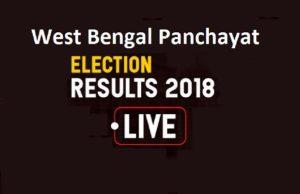 पश्चिम बंगाल पंचायत चुनाव परिणाम 2018 लाइव अपडेट: वोटो की गिनती जारी, 19 जिलों में TMC आगे