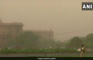 दिल्ली-एनसीआर में आज श्याम को आ सकता है आंधी-तूफान