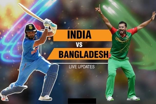 IND vs BAN Match Live Score Update: बांग्लादेश के 5 विकेट गिरे