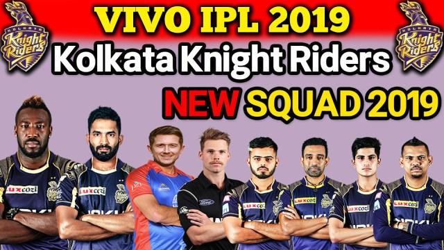 KKR Team 2019 Full Players List: कोलकाता नाइट राइडर्सटीम मैच शेड्यूल, टाइम टेबल