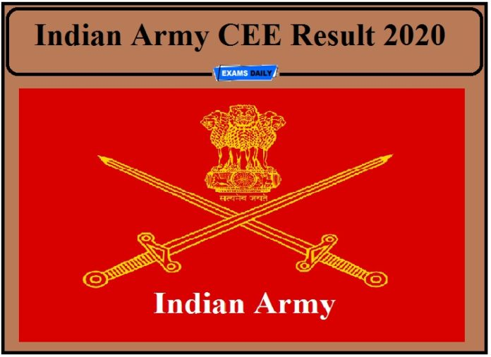 Indian Army Result 2020 Released- Download ARO Rohtak, Hamirpur, Ladakh Scouts Regimental Centre and GRD Ghoom Result!!!
