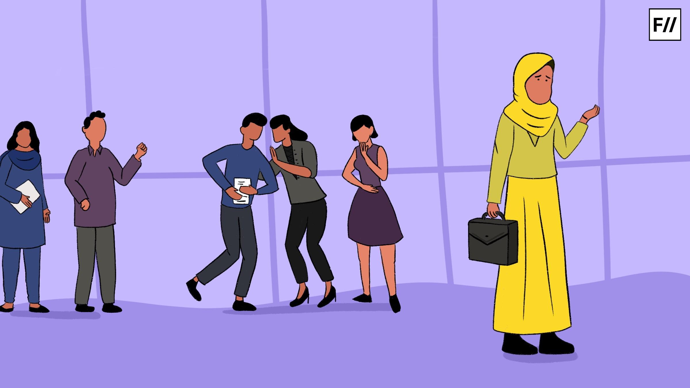 धर्म के आधार पर भेदभाव और पूर्वाग्रह, कार्यस्थल पर मुसलमान कर्मचारियों की आपबीती