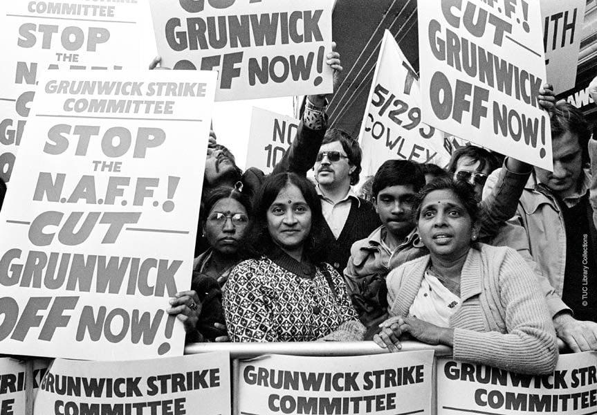ग्रनविक आंदोलन: अपने अधिकारों के लिए जब अप्रवासी भारतीय महिलाएं जब ब्रिटेन की सड़कों पर उतरी