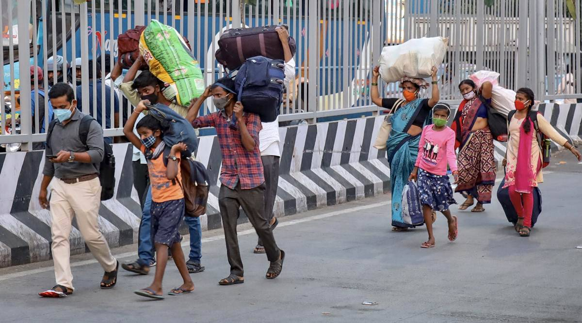 गरीबों के लिए लॉकडाउन बना भूखमरी और बेरोज़गारी की दूसरी लहर