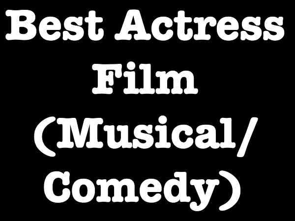 Best Actress - Musical / Drama