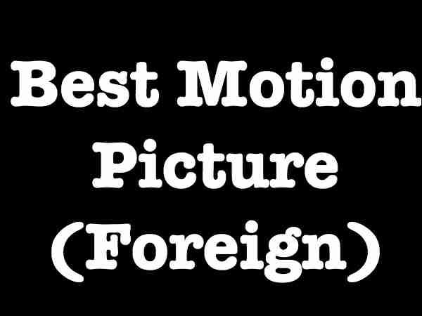 best film foreign