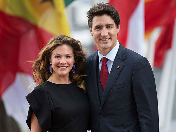 Corona to PM Justin Trudeau's wife Sophie