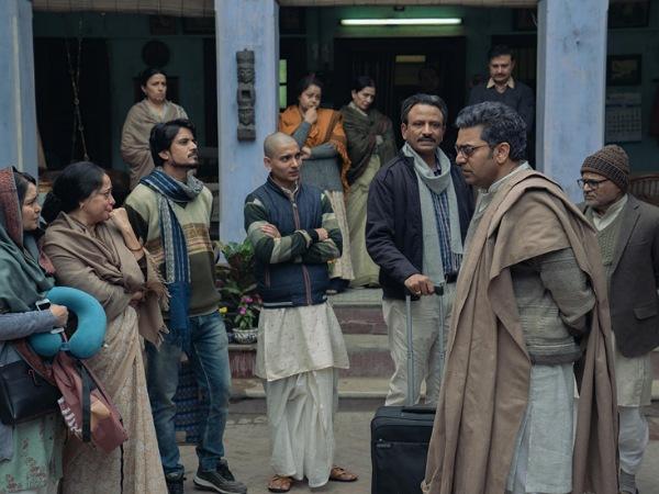 पगलैट फिल्म रिव्यू | Pagglait film review starring Sanya Malhotra | Netflix Pagglait movie review - Hindi Filmibeat