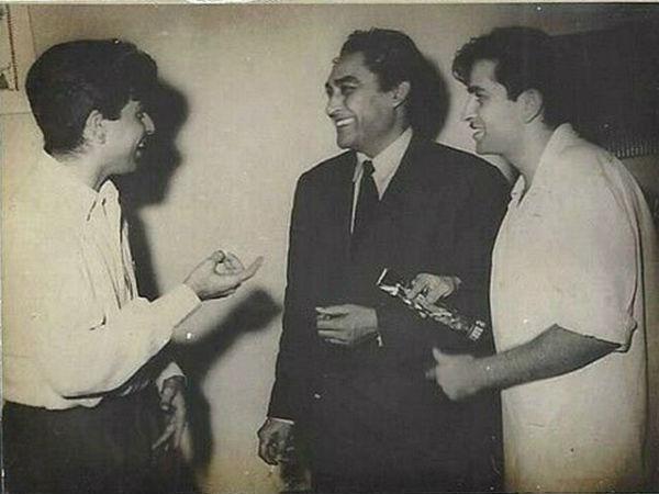Dilip Kumar, Raj Kapoor, Ashok Kumar