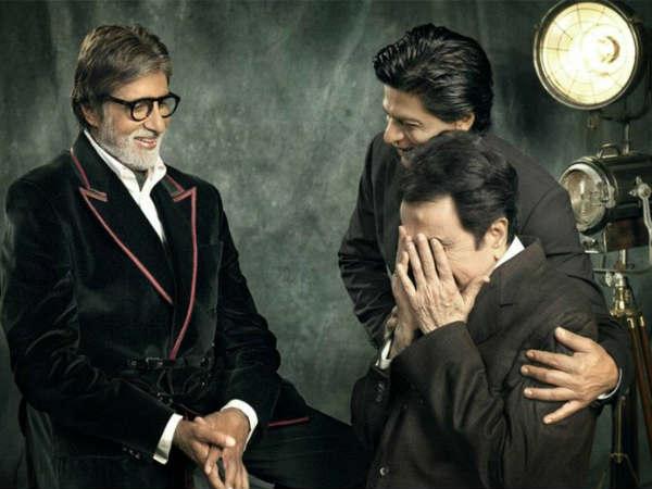 Dilip Kumar and Shahrukh have similar hair