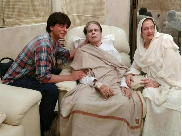 Shahrukh Khan spoke for Dilip Kumar my father