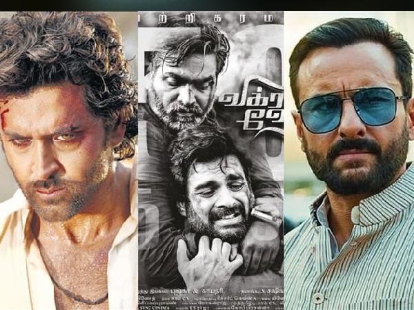 Confirm- Hrithik Roshan and Saif Ali Khan's Vikram Vedha, release date also announced