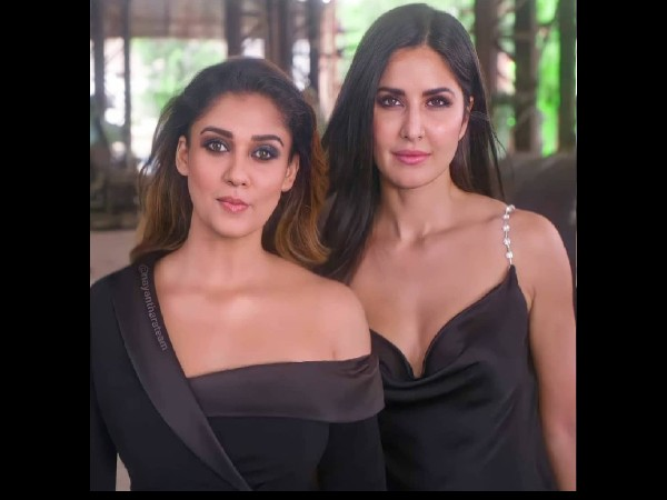 Nayantara's bold look with Katrina Kaif