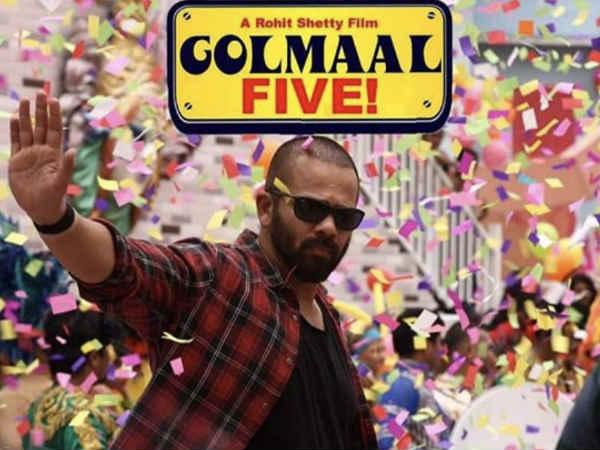 Preparation for Golmaal 5