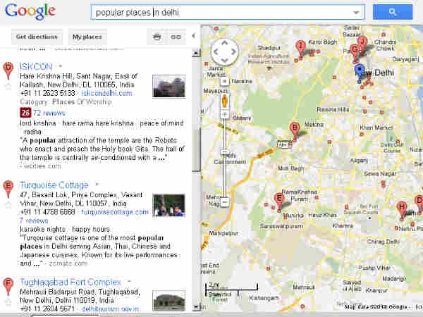 popular places in delhi