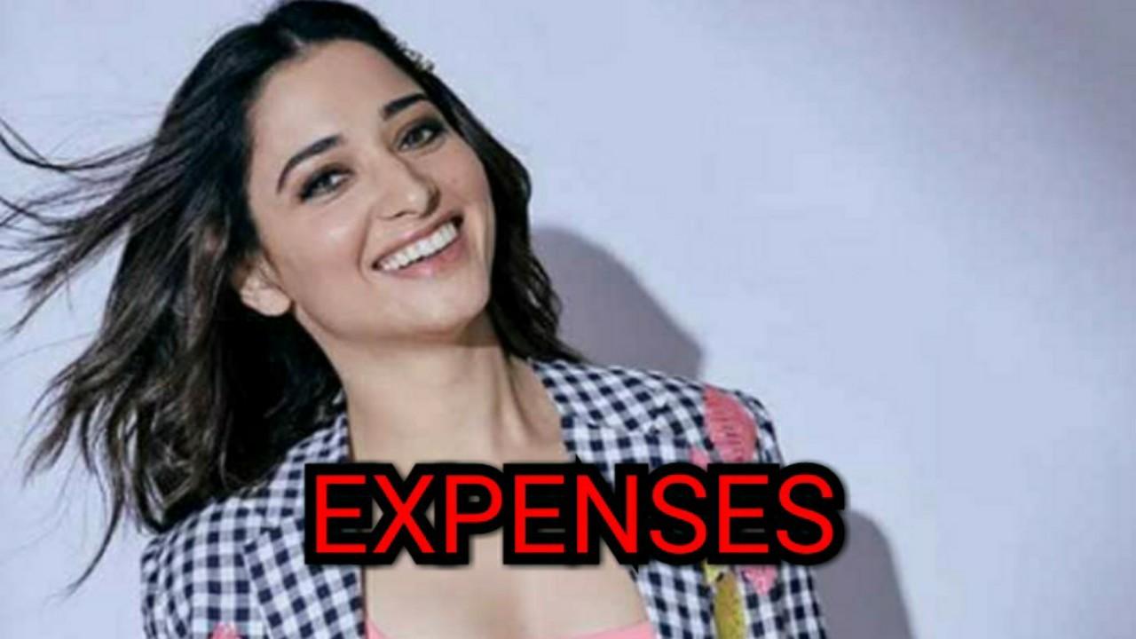 How does Tamannaah Bhatia spend her money?