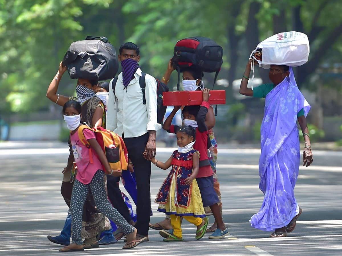 प्रवाशी मजदूरों को 2 महीने तक मुफ्त में अनाज देगी सरकार।