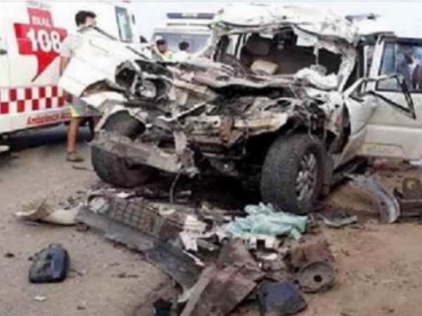 Seven members of two families died in accident