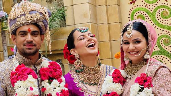 10 नवंबर को हुई थी कंगना रनौत के भाई की शादी