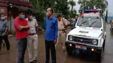 patna badh son shoot his mother for disturbing him