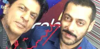 शाहरुख़ & सलमान सेल्फी