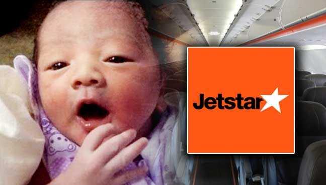 जेटस्टार विमान की सुविधा से खुश होकर महिला ने अपने बच्चे का नाम रखा 'जेटस्टार'
