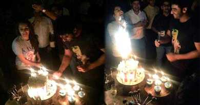 अर्जुन कपूर ने अपनी हाफ गर्लफैंड के साथ सेट पर मनाया जन्मदिन