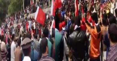 आतंकी कैंपों के खिलाफ पीओके में स्थानीय निवासियों का विरोध प्रदर्शन