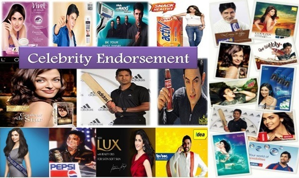 how much actors charge for endorsements