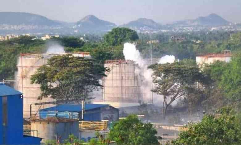visakhapatnam gas leak