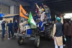 farmers rally on republic day