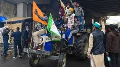 farmers rally on republic day