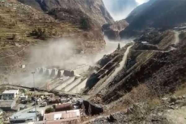 Chamoli glacier burst
