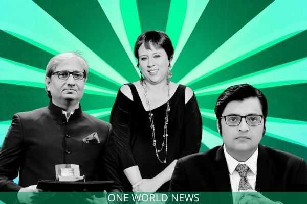 India's top news anchor