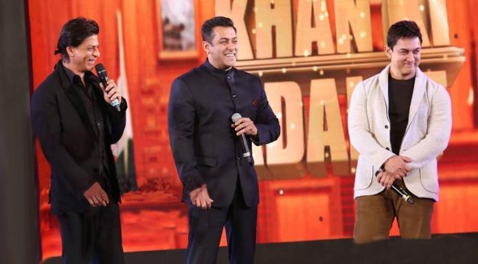 शाहरुख़, सलमान और आमिर