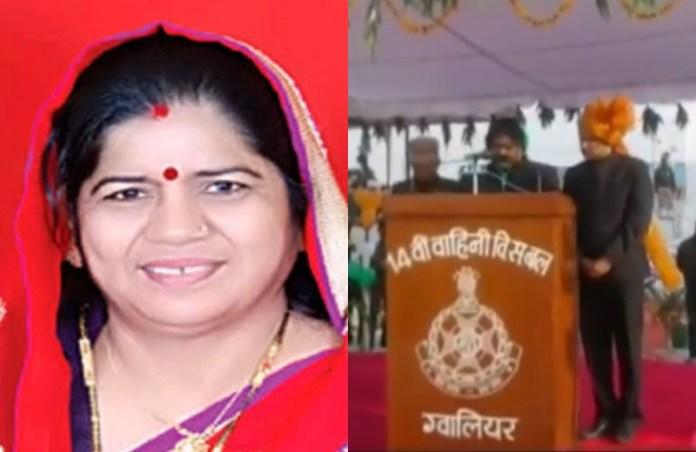 गणतंत्र दिवस पर महिला मंत्री