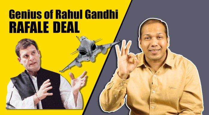 Nitin Gupta aka Rivaldo exposes Rahul Gandhi on Rafale