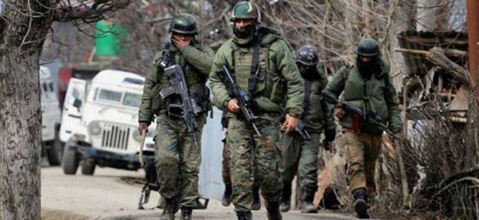 अर्धसैनिक बलों की तैनाती