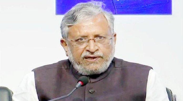 बिहार के उपमुख्यमंत्री सुशील मोदी