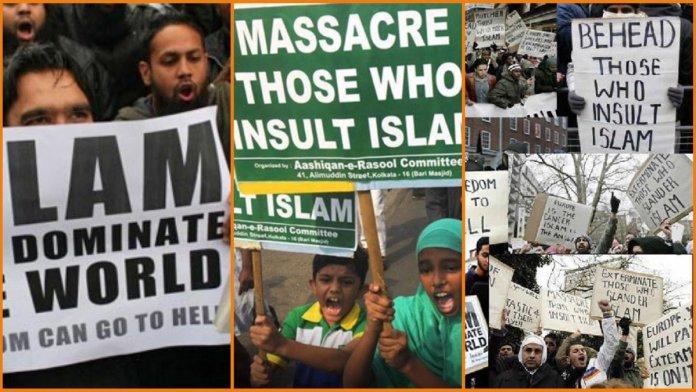इस्लामी आतंक के लिए पोस्टर