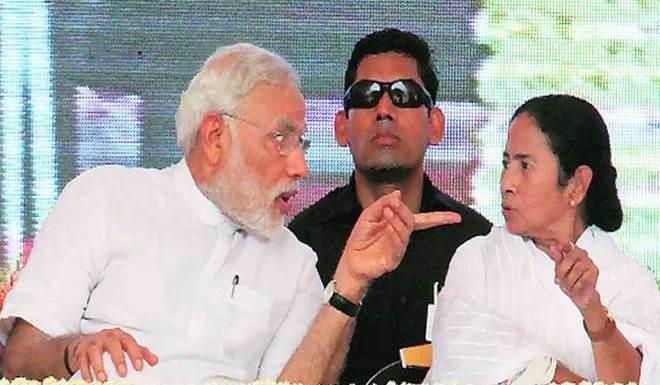 प्रधानमंत्री नरेंद्र मोदी और ममता बनर्जी