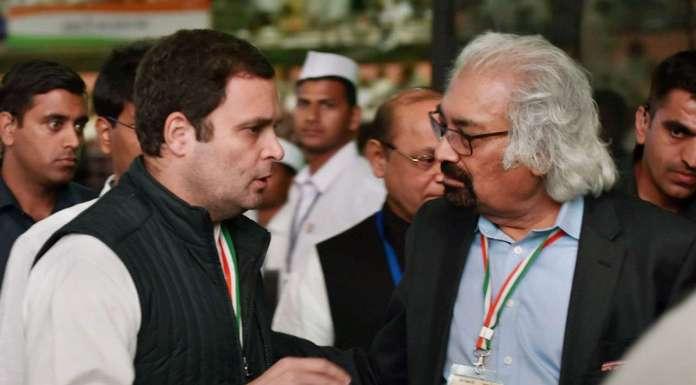राहुल गांधी और सैम पित्रोदा