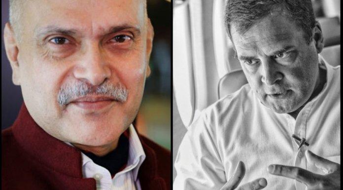राघव बहल और राहुल गाँधी