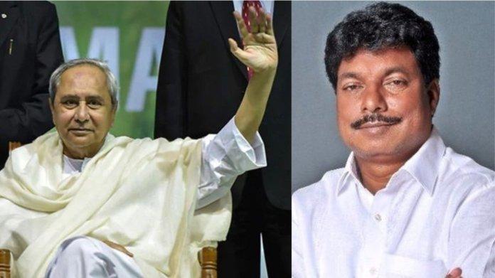 मुख्यमंत्री नवीन पटनायक और सुदाम मरांडी